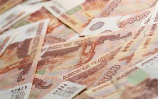 Как выглядит и сколько весит миллион рублей 5000-ными купюрами?