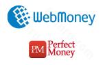 Порядок перевода средств: как обменять Вебмани на Перфект Мани и наоборот?