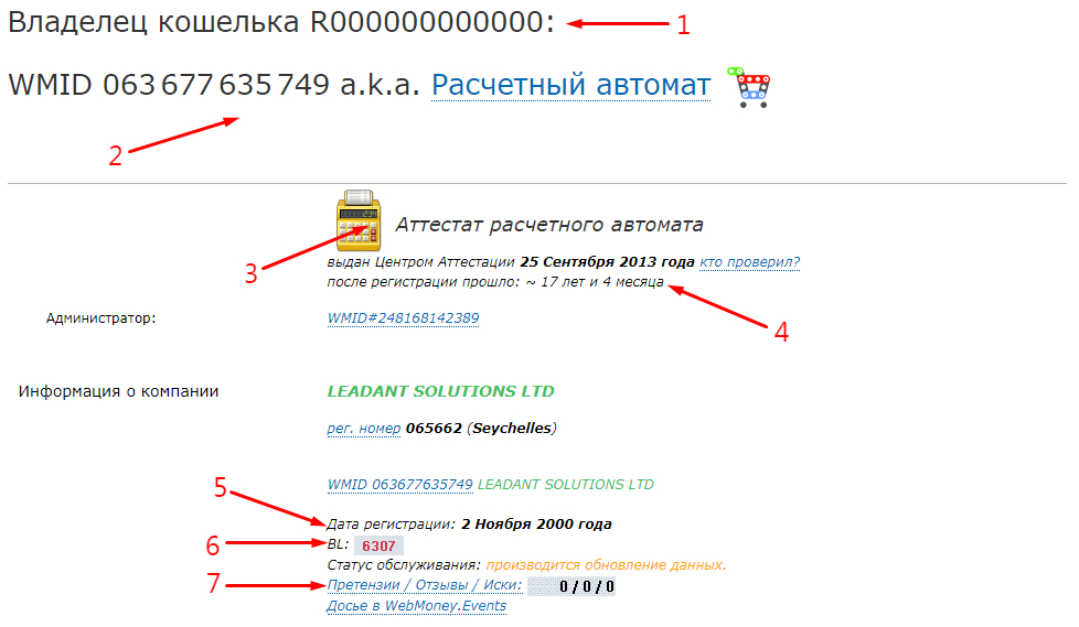 Как узнать свой WMID в WebMoney - способ 2