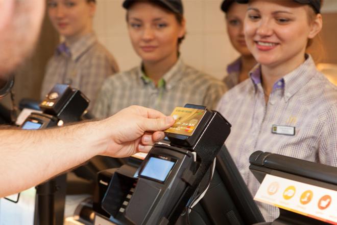 PayPass на кассе