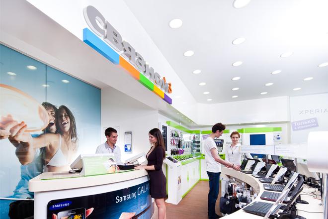 Оформление беспроцентного кредита в магазине Связной