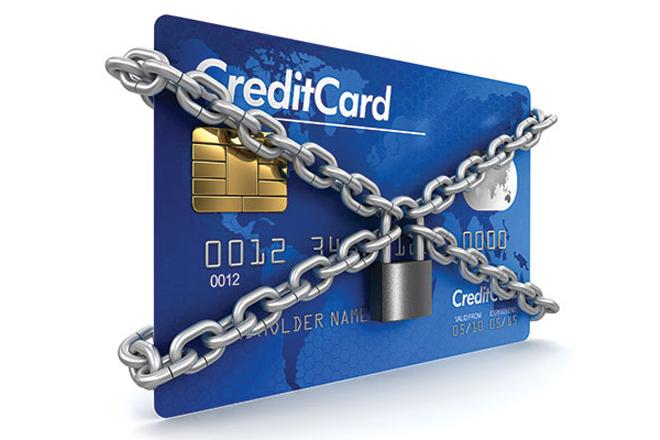 Арест кредитки