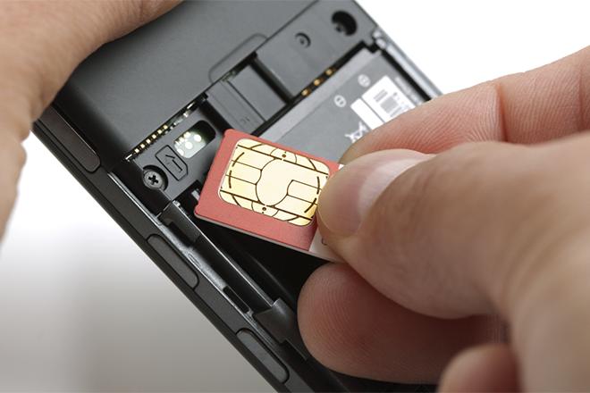 Переустановка SIM-карты