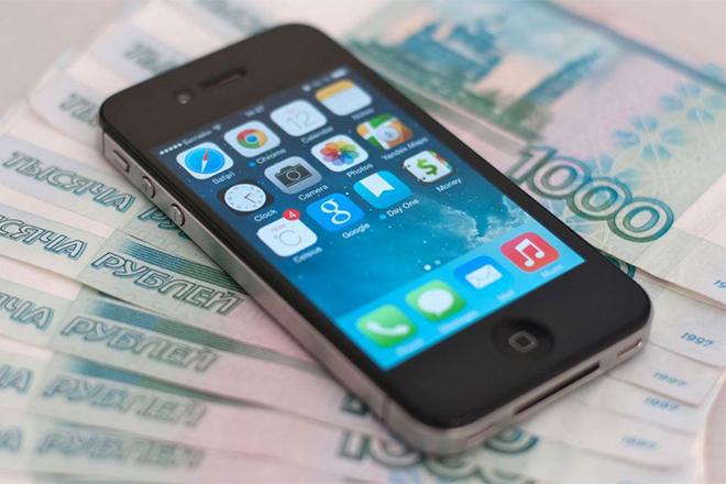 Смартфон в кредит